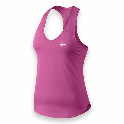 2a1c08dd9 Women s Nike Court Team Pure Dri-Fit Tennis Sleeveless Tank Top Size Xs  728739