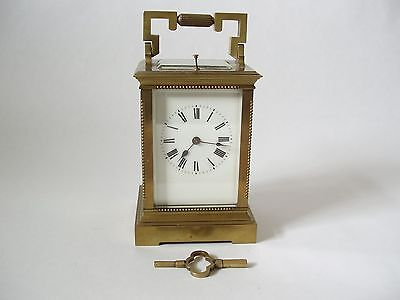 Carriage Clock, French, 19Th Cent, Time, Strike, Repeater