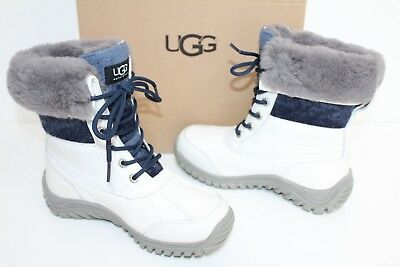 d9dd11c9102 UGG AUSTRALIA WOMEN'S Adirondack II Winter Snow Boots Leather 5469 ...