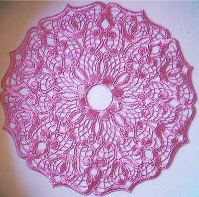 FANCY DOILIES FSL 10  MACHINE EMBROIDERY DESIGNS CD or USB