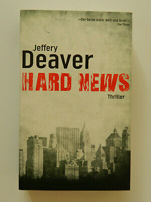 Jeffery Deaver Hard News Thriller