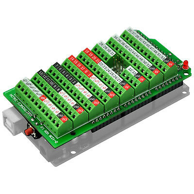 Electronics-Salon Screw Terminal Block Breakout Module, for Arduino MEGA-2560 R3