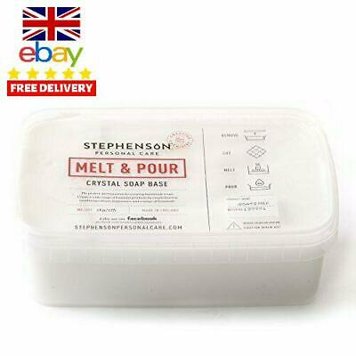 Melt and Pour Soap Base Goat's Milk - 1Kg Alcohol Free Moisturizer Moisturizing