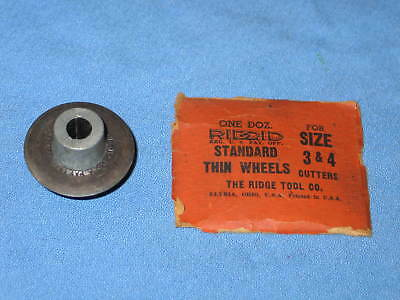 NOS Genuine Ridgid STANDARD Thin Cutting Wheels for Size 3 & 4 Cutters - NEW