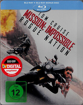 Mission: Impossible - Rogue Nation - Limited Edition Steelbook Cover C (Blu-ray)