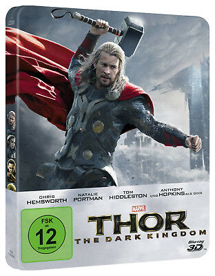 Thor - The Dark Kingdom 3D - Limited Steelbook Edition (Blu-ray 3D+2D) NEU&OVP!