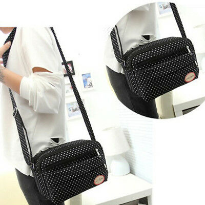 Portable Small Mummy Diaper Bags Baby Nappy Canvas Shoulder Changer Bag FG