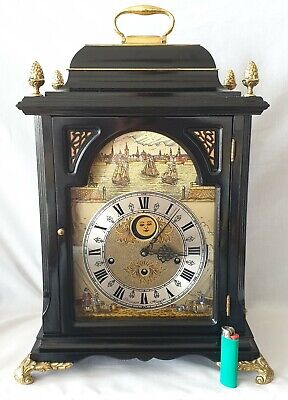 Christiaan Huygens Clock Automaton Triple Chime Limited Edition Moonphase Rare