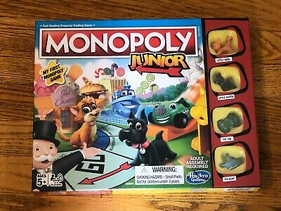Monopoly Junior Board Game, My First Monopoly Game, New, Factory Sealed