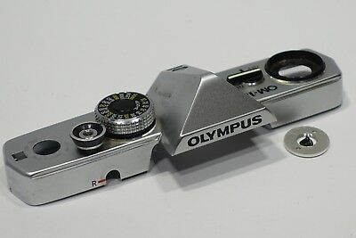 Olympus OM-1N Camera Top Plate with On/Off switch, no dents, OM1n