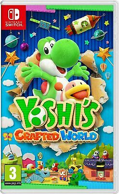 Yoshi's Crafted World Nintendo Switch UK NEW & SEALED Kids Platform Adventure