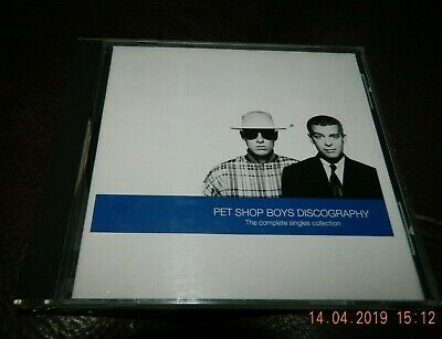Cd - Pet Shop Boys - Discography - The Complete Singles Collection