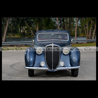 #pha.004284 Photo DELAHAYE 135 M COUPÉ (GUILLORÉ) 1946 Car Auto