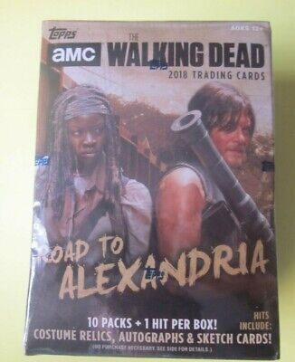 2018 Topps AMC The Walking Dead: Road to Alexandria Blaster Box