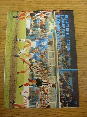 1984/1985 Oldham Athletic: Be Part Of The Action, Team Up With Oldham Athletic (