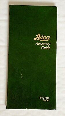 Leica Pocket Book, of Accessory Guide,1992 Edition