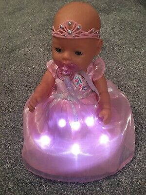 Zapf Baby born doll with light up wonderland dress