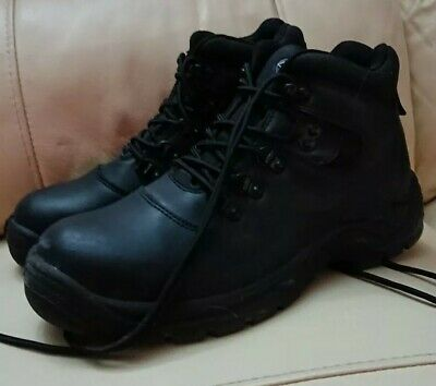 DICKIES FURY Leather Safety Work Hiker Boots SRA Steel Toe Cap Black Size 8 42