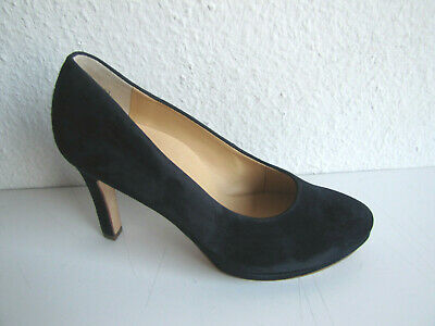 991b99e8143823 PAUL GREEN DAMEN Pumps Gr.37 UK 4 Farbe dunkelblau Wildleder NEU ...