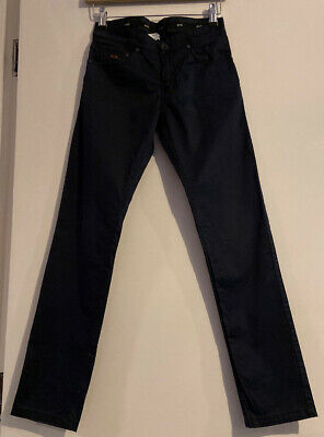 Hugo Boss Boys Slim Navy Trouser Size 12xs
