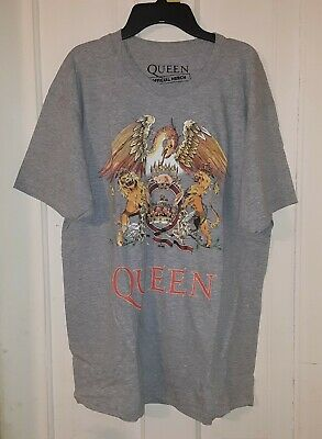 NEW /& OFFICIAL! Black Womens Fitted T-Shirt Queen /'Classic Crest/'