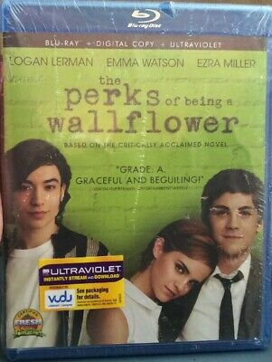 Perks Of Being A Wallflower Bluray + Digital + Ultraviolet 2012 New Sealed