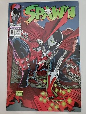 SPAWN #8 (1992) IMAGE COMICS! TODD McFARLANE ART! 1ST APPEARANCE OF VINDICATOR!