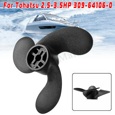 7.4 x 5.7 2.5-3.5HP Marine Boat Propeller For Nissan Tohatsu Johnson 309-64107-0