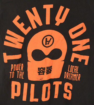Twenty One Pilots Rock Band Tour T-shirt Adult Small Power to the Local Dreamer