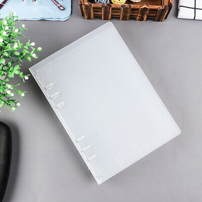 A5 A4 Notebook Sheet Shell School Supplies Clear Concise Binder Planner Cover B