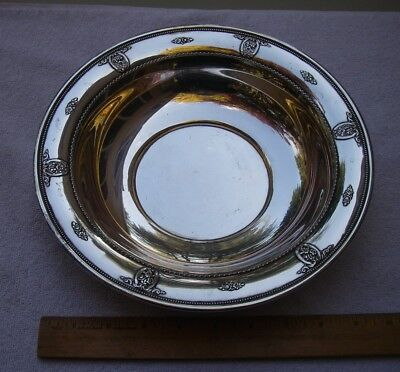 Good Wallace ROSE POINT (1934) SERVING BOWL-10 inch-NO MONO-NR