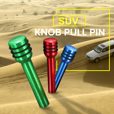 Aluminum Alloy Universal Car Truck Interior Door Lock Knob Pull Pin 7-Color CA