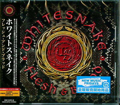 Whitesnake-Flesh & Blood-Japan Cd Bonus Track F83