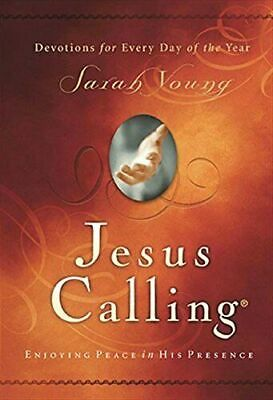 Jesus Calling Enjoying Peace in His Presence Hardcover by Sarah Young TOP SELLER