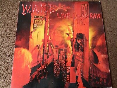 W.A.S.P. WASP - Live in the Raw