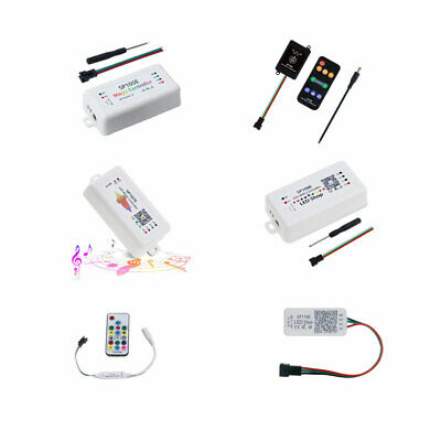 WS2812B LED Light Controller Music Bluetooth Wifi SP105E SP107E SP108E SP110E