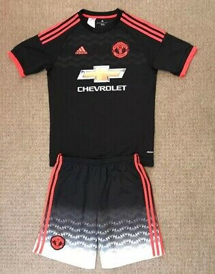 Manchester United third kit size 15-16 years Adidas 2015-2016