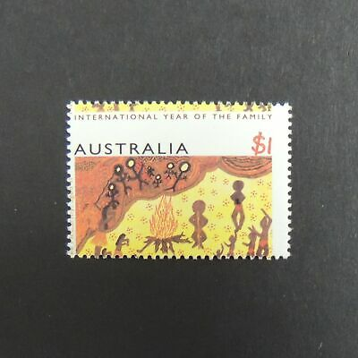 Australia 1994 $1 Year of the family, Misplacement of perfs