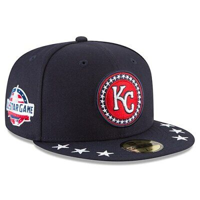 size 40 a5882 fe4bc Kansas City Royals New Era 2018 MLB All-Star Workout On-Field 59FIFTY Fitted