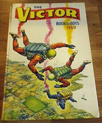 The Victor Book for Boys 1969 - Vintage Annual - unclipped
