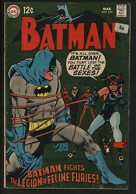 Batman #210.catwoman In New Costume. Neal Adams Cover