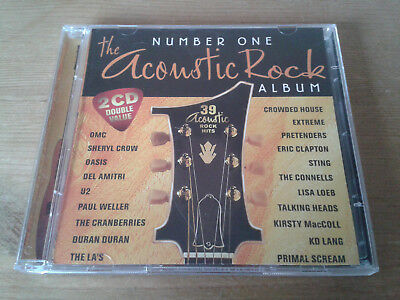 The Number One Acoustic Rock CD Album, Guitar, Various, incl Oasis Radiohead U2