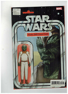 STAR WARS #63  1st Printing - Action Figure Variant Cover   / 2019 Marvel Comics