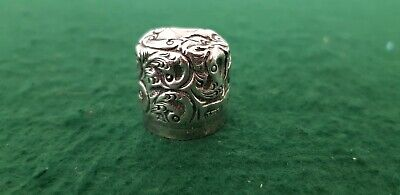 Antique HM 1903 JH Worral Sterling Silver Bottle Screw Top