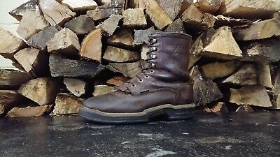 29c94d2c4e1 WOLVERINE WATERPROOF WORK Boots Men's 8M Insulated Pigskin Leather ...