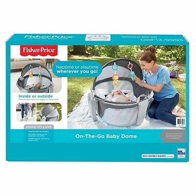 Fisher-Price On-The-Go Baby Dome/New In Box/Free UK P&P