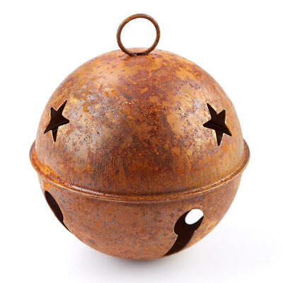 Rusty Metal Jingle Sleigh Bells for Crafting, Designing and Decorating