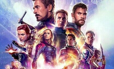 2 Opening Day Avengers Endgame Movie Tickets