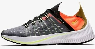 online store bb583 2630d Nike EXP - X14 Black / Volt Total Crimson Men's Trainers Size 10 Bnib  AO1554 001