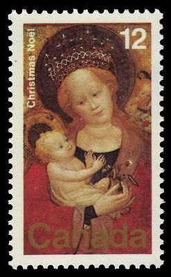 "CANADA 773 - Christmas ""Madonna of the Flowering Pea"" (pa26295)"
